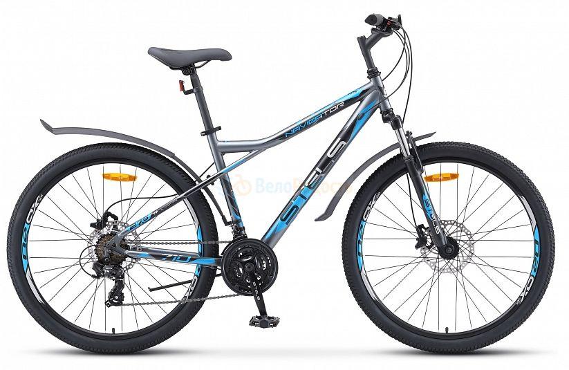 Велосипед горный Stels Navigator 710 D 27.5 V010 (2021)