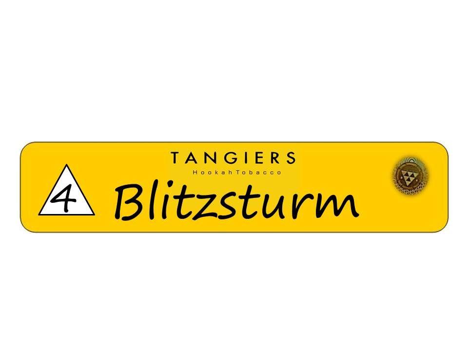Табак Tangiers Noir - Blitzsturm (Гроза, 250 грамм)