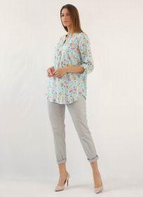 Рубашка для беременных и кормящих мам АУ-41.2003.0/ГМЦ