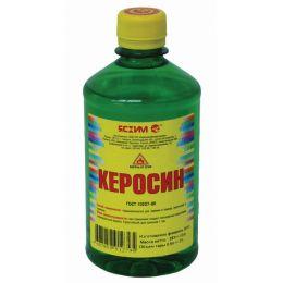 Керосин Ясхим 0,5 л ПЭТ для разбавления масляных, битумных лакокрасочных материалов