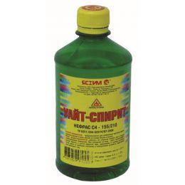 Уайт-спирит Ясхим 0,5 л ПЭТ для растворения жирных алкидов, некоторых каучуков