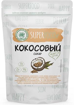 ВД Сахар кокосовый 200 г в дой-паке