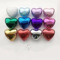 Гелиевые шары фольгированые сердца