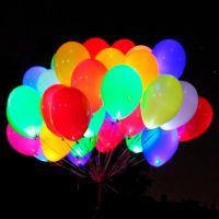 Светящиеся гелиевые шары (латекс, 12 дюймов (30 см.))