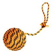 Doglike Мяч Броник с ручкой большой (оранжевый-чёрный)