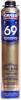 Монтажная Пена Krass Professional V69 890мл с Увеличенным Выходом, Зимняя