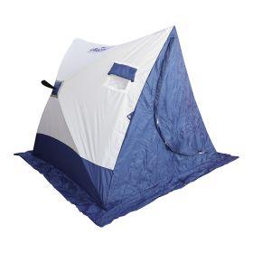 Палатка зимняя  Следопыт  2-скатная бело-синий
