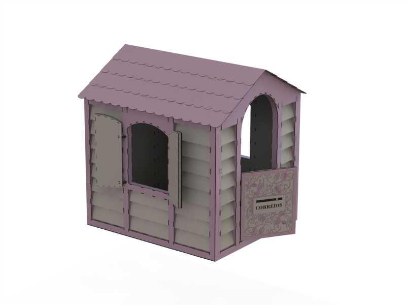 Кукольный дом простой