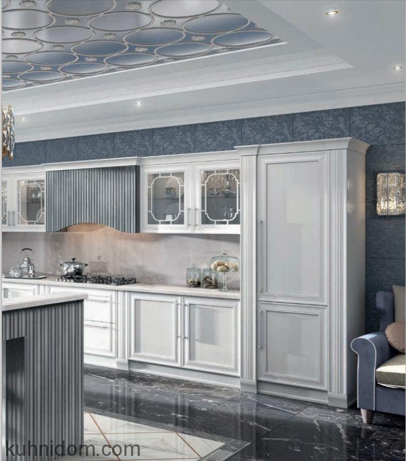 Кухня Комо Сильвер