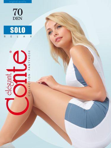 Женские колготки CONTE SOLO relax 70 Den nero CON015