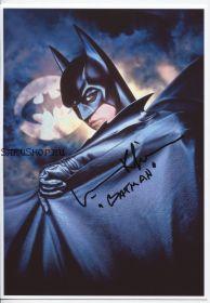 Автограф: Вэл Килмер. Бэтмен навсегда