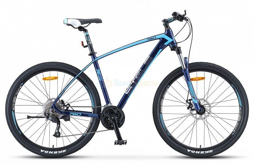 Велосипед горный Stels Navigator 760 MD 27.5 V010 (2021)