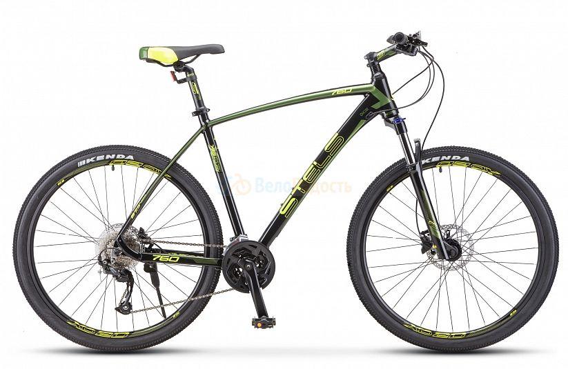 Велосипед горный Stels Navigator 760 D 27.5 V010 (2021)