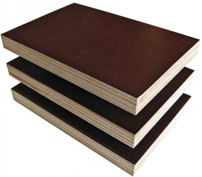 Фанера ламинированная лист 1220х2440 мм, толщина 18 мм