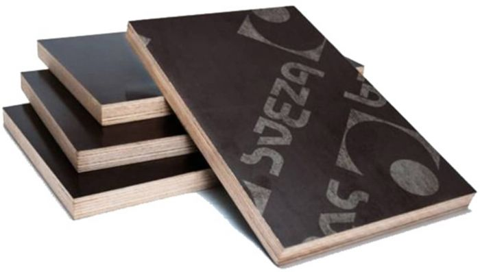 Фанера ламинированная лист 1220х2440 мм, толщина 21 мм