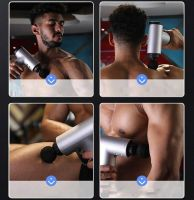 Мышечный ударный массажёр пистолет Muscle Fascial Massager_3