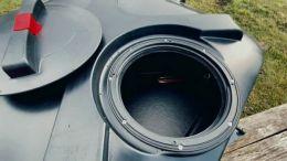 Горловина бака для душа 200 литров с подогревом