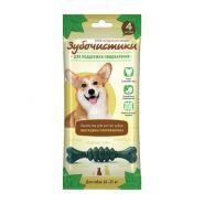 Зубочистики с мятой Лакомство с хлорофиллом для собак средних пород, 70гр