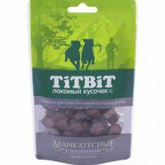 Титбит Колбаски Деликатесные с олениной для собак малых и средних пород, 40г