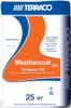 Гидроизоляция Обмазочная Terraco Weathercoat RW 25кг Однокомпонентная, Цементная Белая, Серая / Террако Везеркоат RW