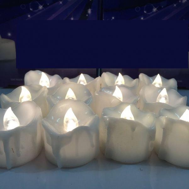 Цветной светодиодный фонарик в форме свечи