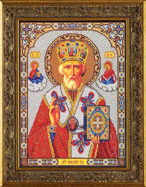 Набор для вышивания бисером Николай Чудотворец РАДУГА БИСЕРА (КРОШЕ) (КР.В-473)