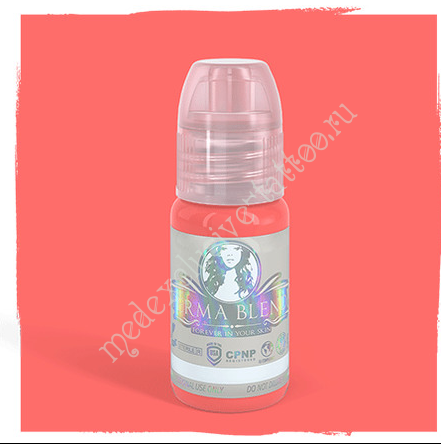 "Perma Blend для татуажа губ ""Creamy Coral"" 15 ml"