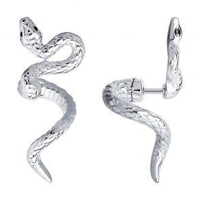 Серьги из серебра с фианитами 94024139 SOKOLOV
