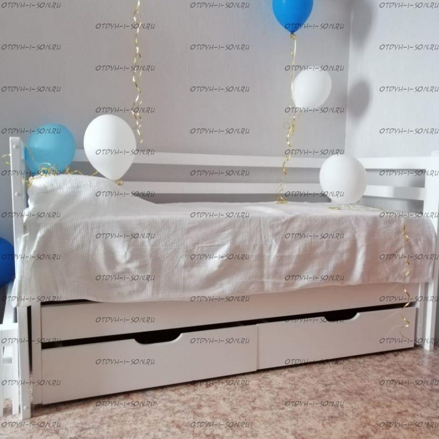 Кровать двухъярусная выкатная Меган дуэт, любые размеры