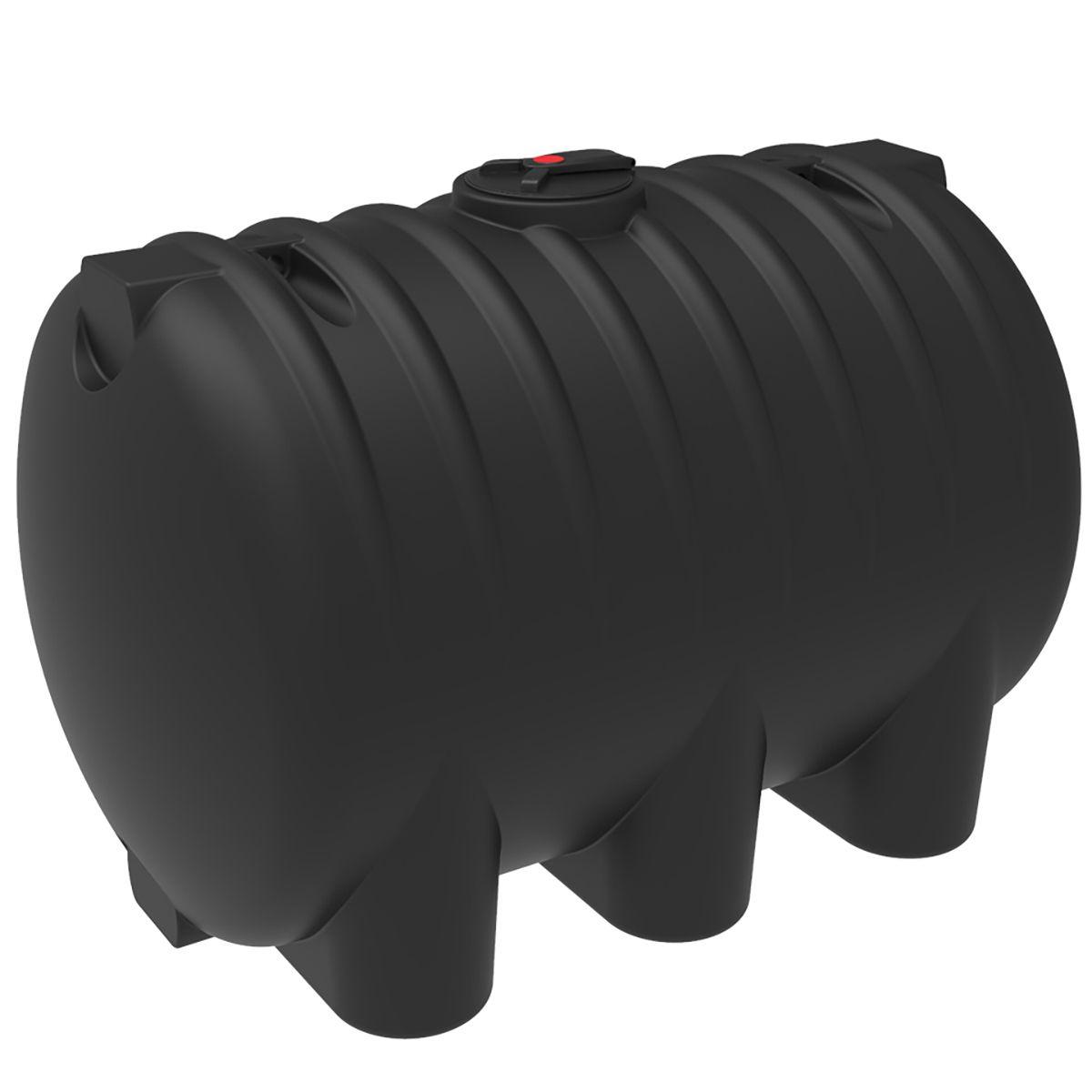 Емкость HR 8000 литров черная пластиковая
