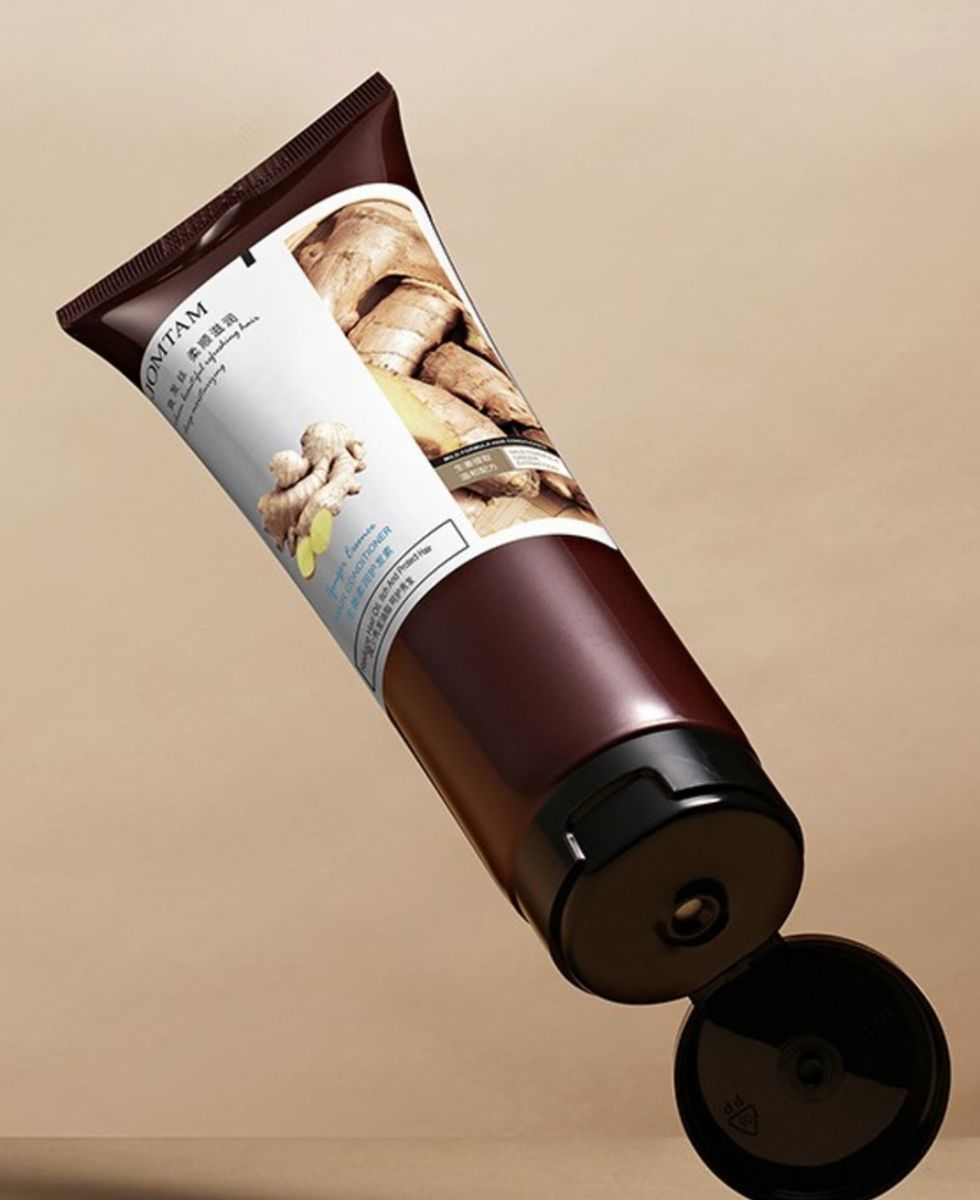 Увлажняющий и разглаживающий кондиционер для волос с имбирем JOMTAM. (2380)
