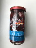 Оливки Каламата,350 грамм (стекло)