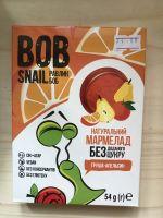 Натуральный мармелад груша-апельсин   Bob snail,54 грамма