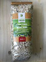 Цельнозерновые Овсяные пластивцы (без термической обработки) Natural Green,300 грамм