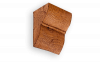 Консоль из Полиуретана Уникс Классика К3 Орех Д200хШ200хВ230 мм Умеренная Обработка Топором
