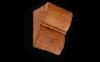 Консоль из Полиуретана Уникс Классика К1 Орех Д90хШ70хВ110 мм Умеренная Обработка Топором