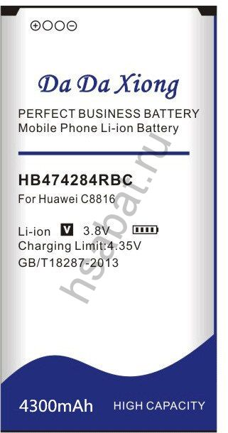Аккумулятор HB474284RBC 4300 мАч Япония