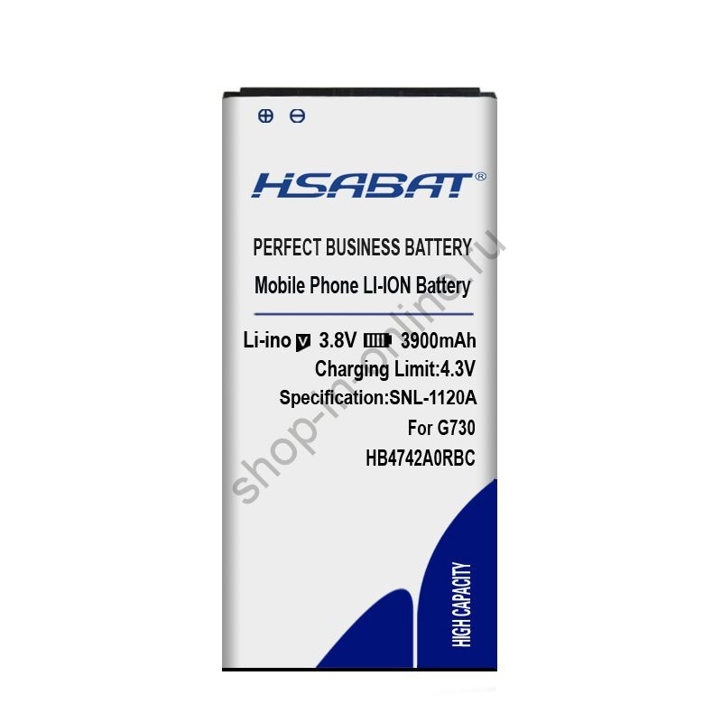 Аккумулятор HB4742A0RBW HB4742A0RBC 3900 мАч