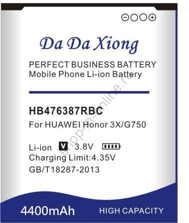 Аккумулятор HB476387RBC 4400 мАч Япония