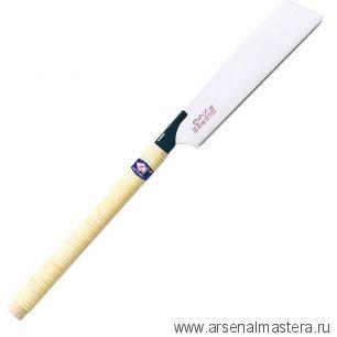 Пила японская Z-Saw Kataba Universal H-250 250 мм 18tpi 0.5 мм деревянная рукоять для поперечного, продольного и комбинированного реза 15271 М00017240