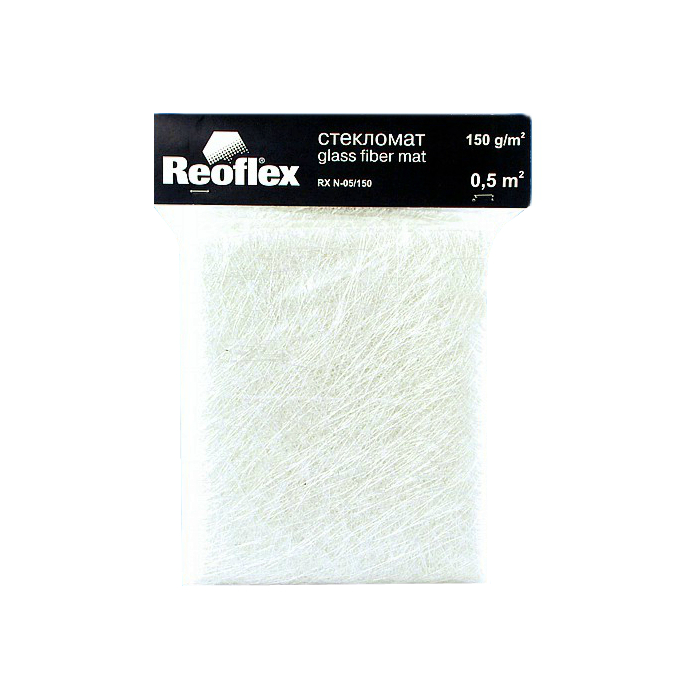 Reoflex Стекломат (300 гр/1кв.м.), уп. 0,5 кв.м.