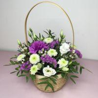 Фиолетовая корзина