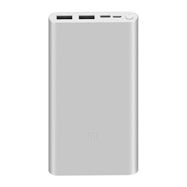 Внешний аккумулятор Xiaomi Mi Power Bank 3 10000 mAh Silver (PLM13ZM)