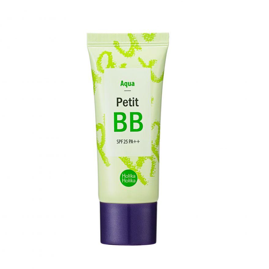 Holika Holika Petit BB  Aqua- освежающий крем c экстрактом зеленого чая