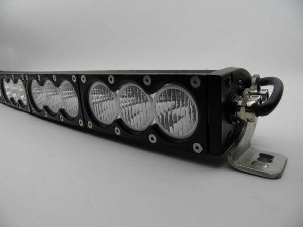 Однорядная панорамная светодиодная балка комбинированного свечения V10 270W