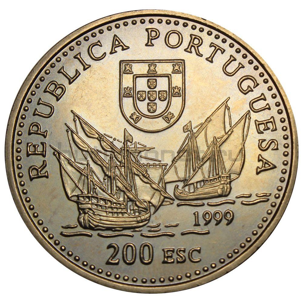 200 эскудо 1999 Португалия Дуарте Пачеко Перейра