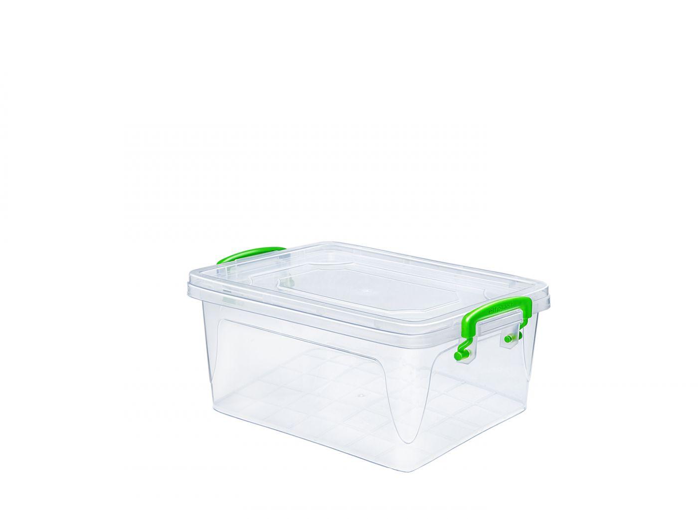 Контейнер для хранения Эльфпласт Fresh Box 1 литр прозрачный с крышкой 17х11х9,8 см