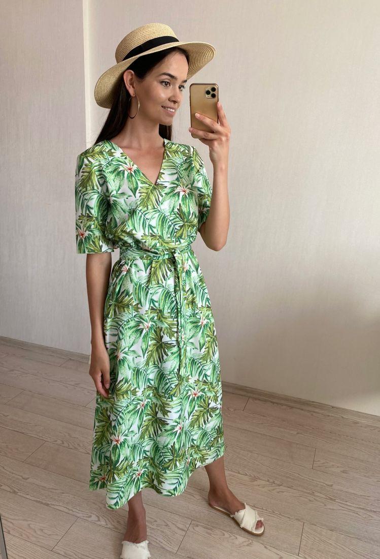 s1806 Платье из вискозы