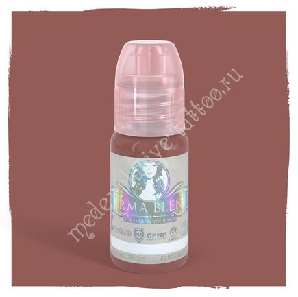 Perma Blend для татуажа губ и ареолов Blushed 15 ml