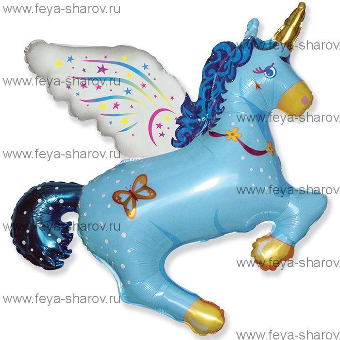 Шар Единорог 112 см